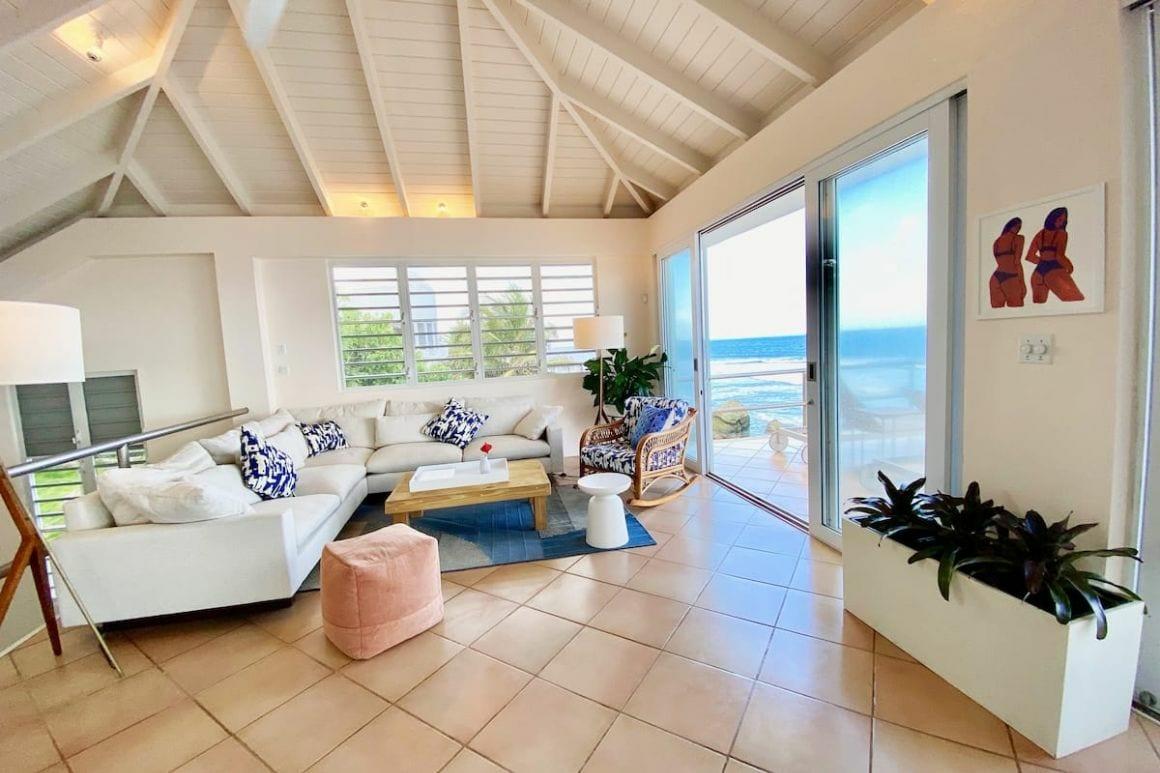 modern oceanfront villa Puerto Rico