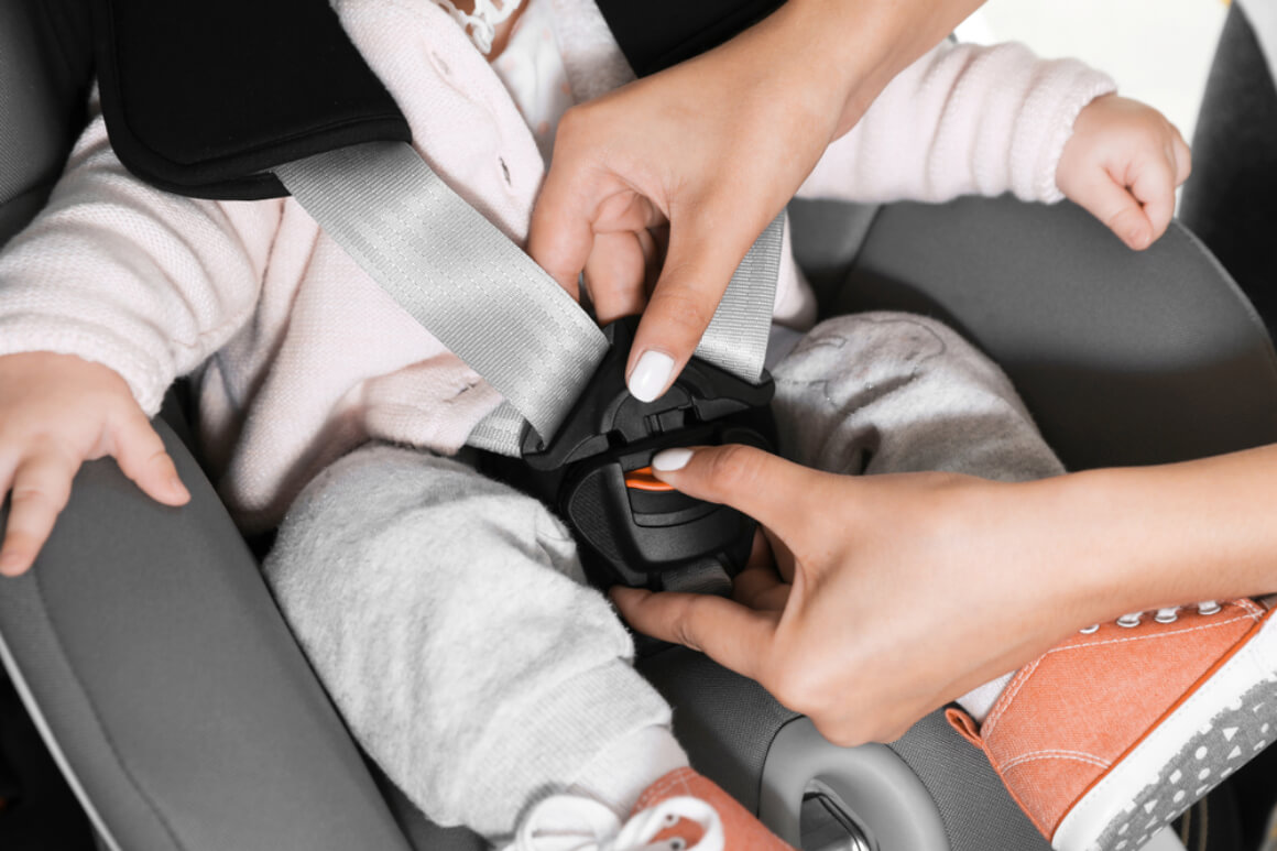 Children should use safety seats