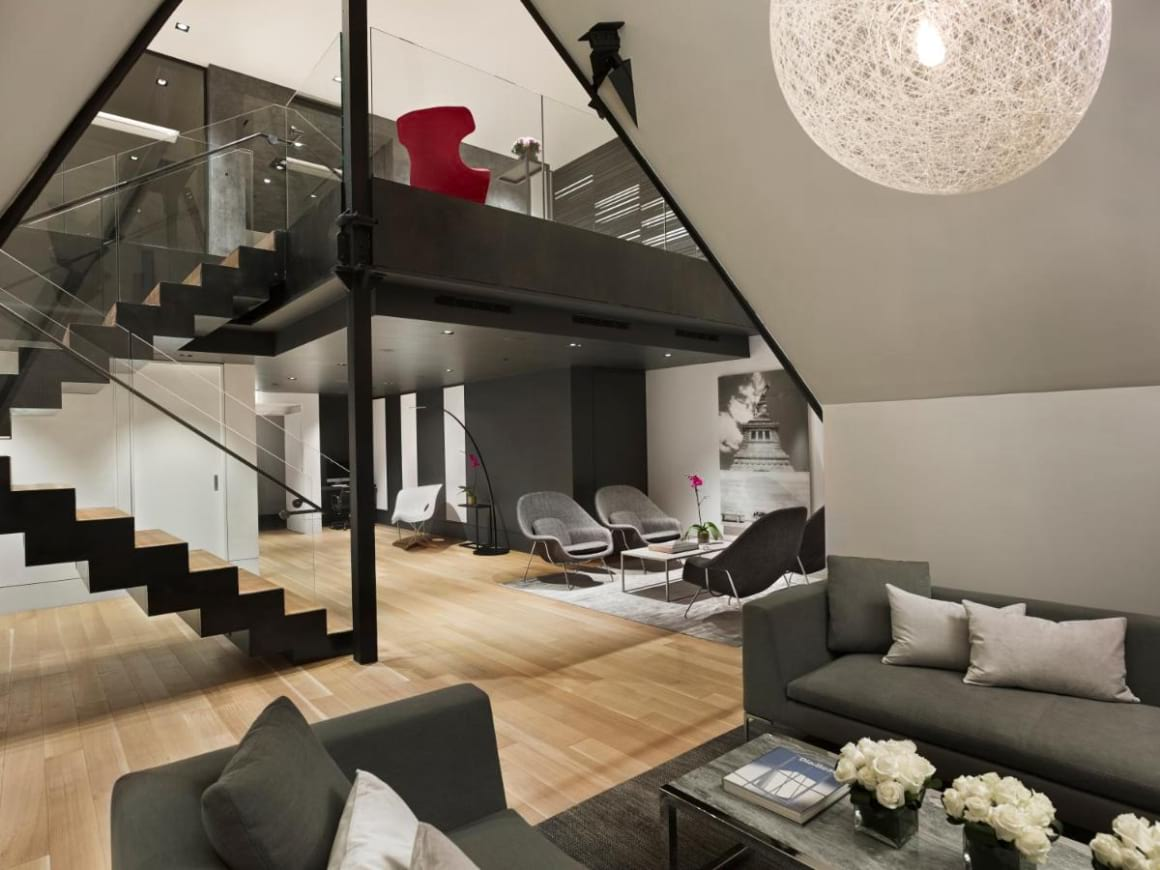 Sleek and Modern Condo with Office