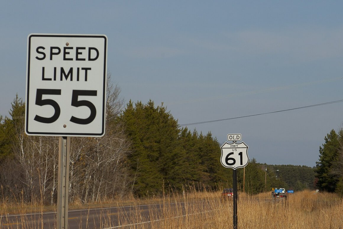 The speed limit can vary